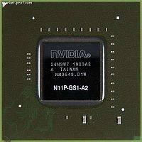 Видеочип nVidia N11P-GS1-A2 GeForce G330M, RB